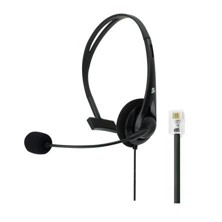 HEADSET OFFICE PARA TELEFONE COM CONECTOR RJ9