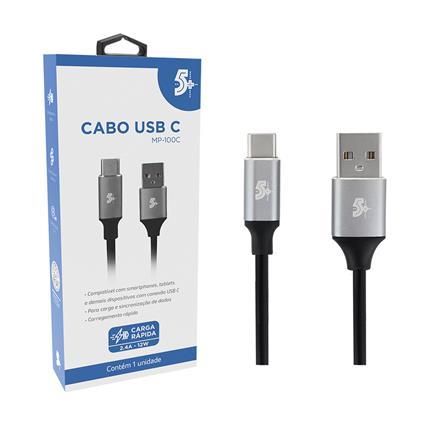CABO USB C PARA USB - 2.0 - 1,2m ALUMINUM MOBILE PREMIUM